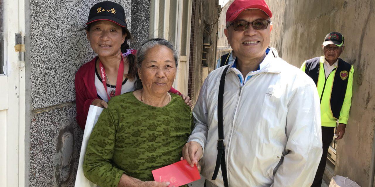本會林天財理事長親訪澎湖關懷之旅